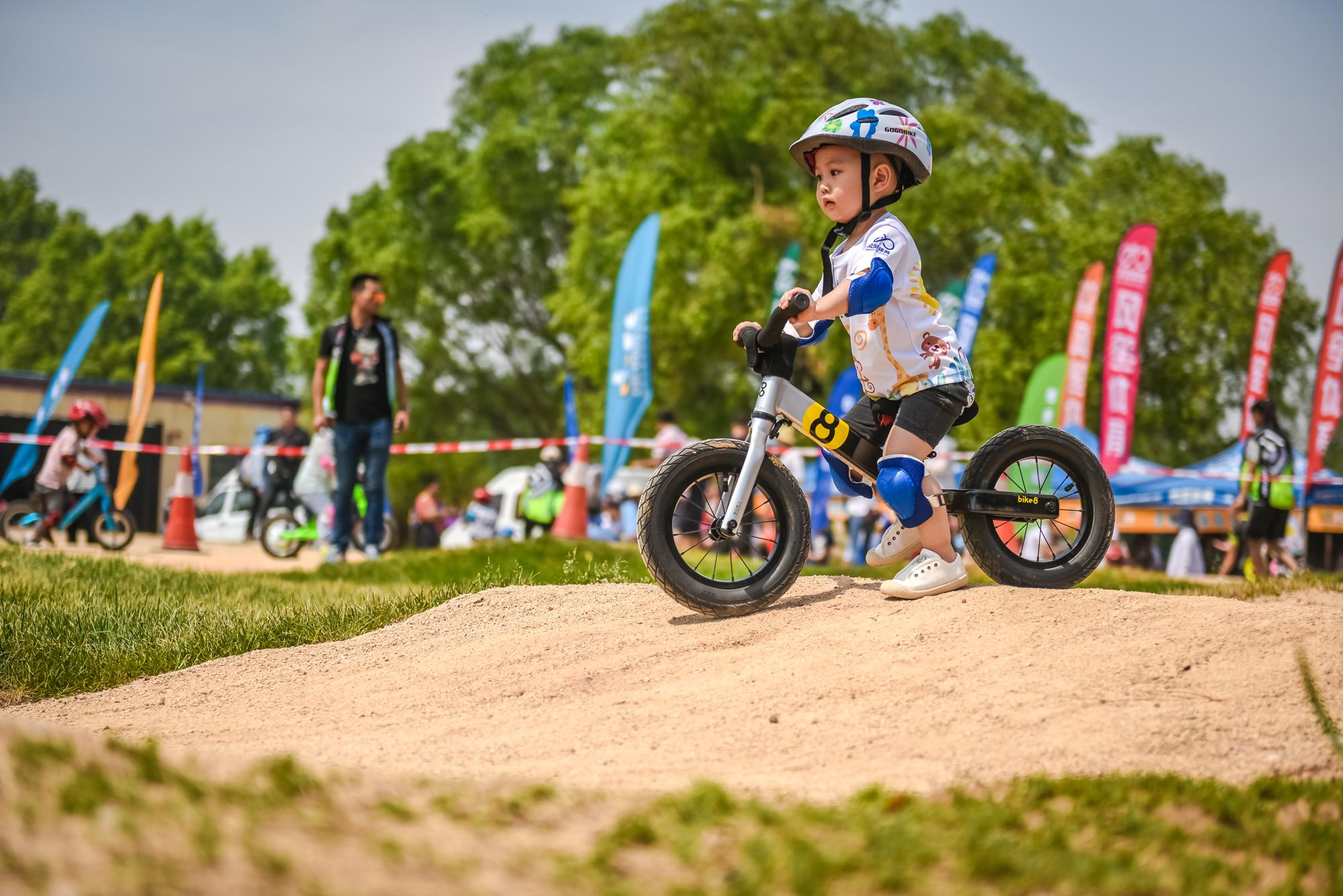 """""""六一""""的正确打开方式 风笙儿童自行车训练场正式开放"""
