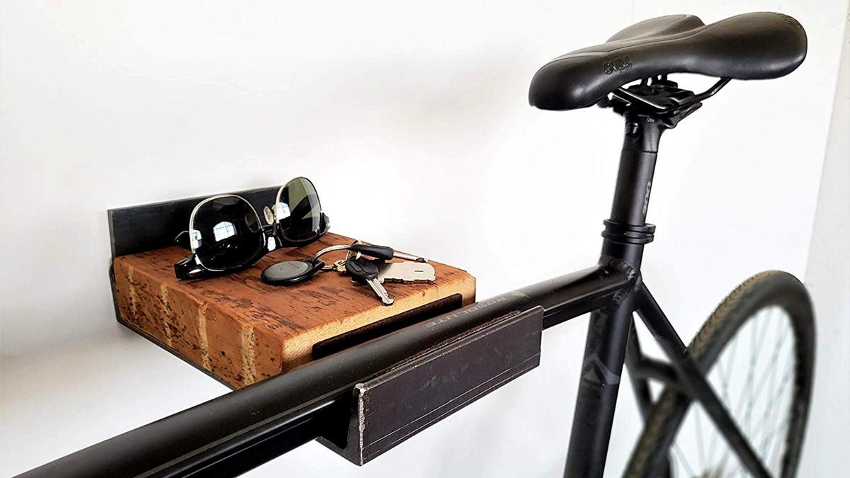 自行车躺在家中的十八般姿势