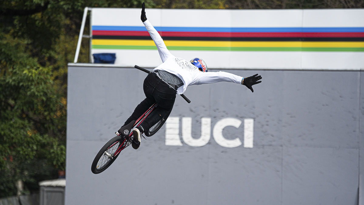 2019UCI都市自行车世锦赛收官 BMX自由技巧两项冠军压轴登场
