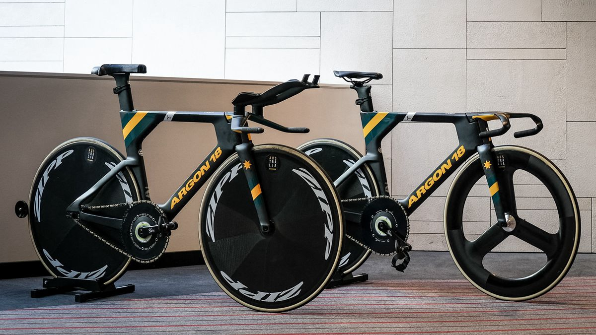 Argon 18与澳大利亚自行车队联合推出东奥会定制版战车