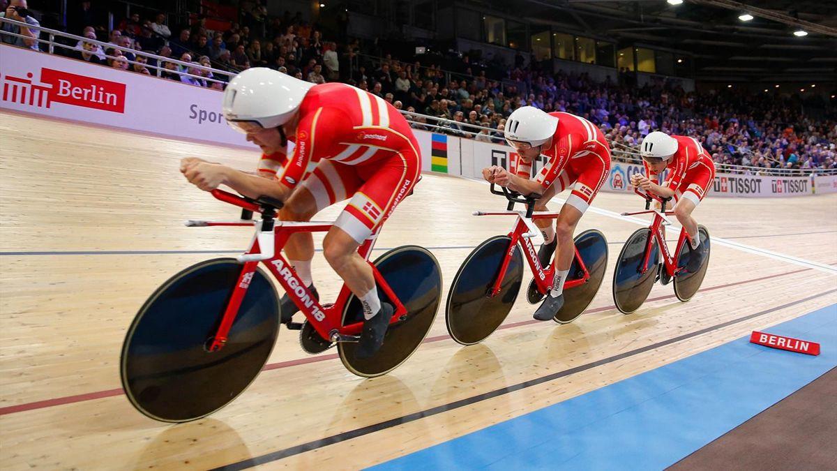 丹麦国家自行车队2天内3次打破男子团体世界纪录