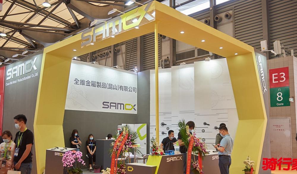 中国展   厚积薄发 高端单车配件品牌SAMOX采访