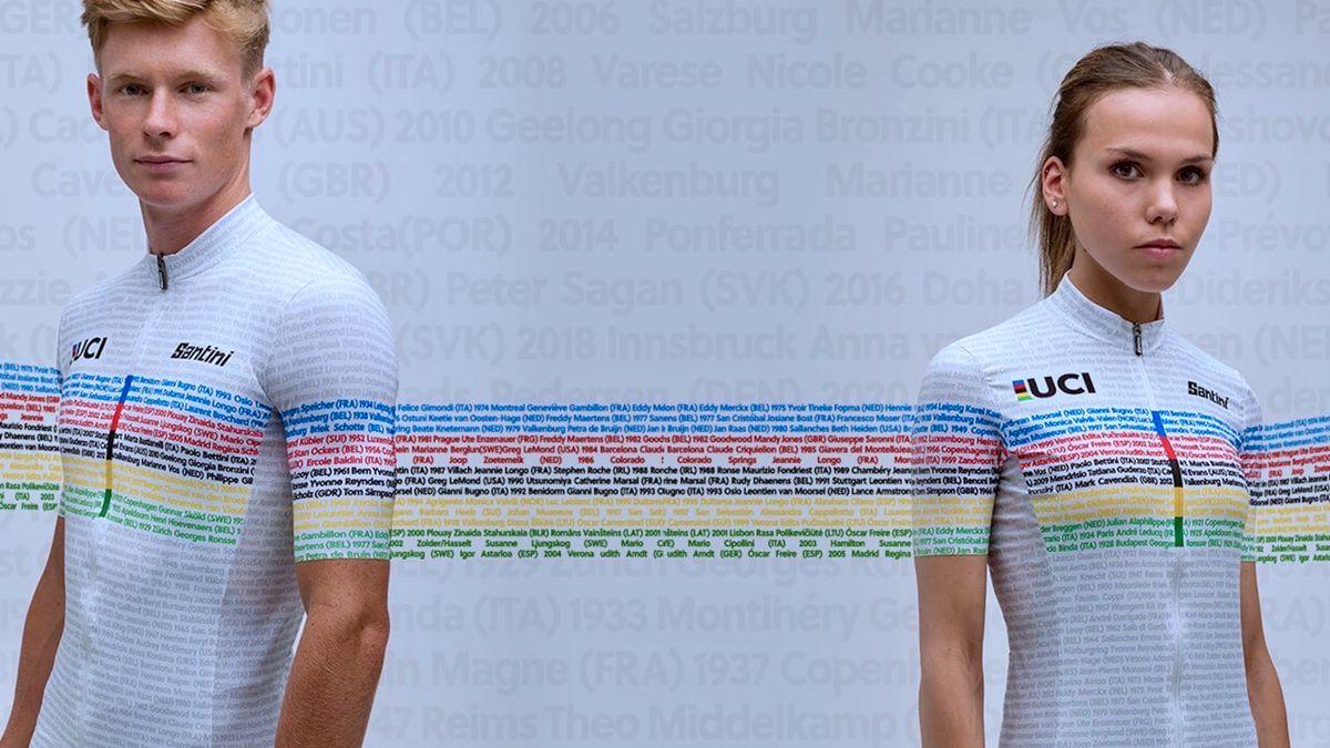 Santini推出世锦赛100周年纪念版骑行服