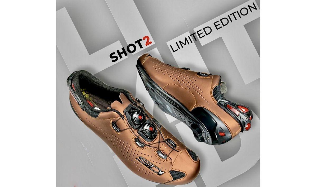 """Sidi推出""""生锈""""限量版Shot2 Rust公路锁鞋"""